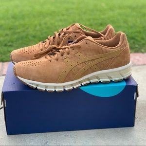 Asics Shoes | Caramel Leather Asics Gel